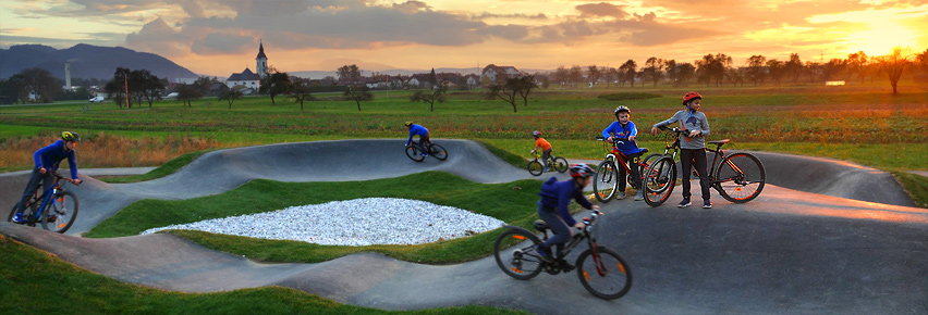 Pumptrack steza